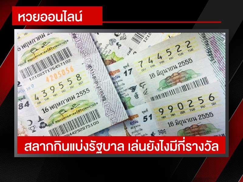 หวยไทย ล็อตเตอรี่ สลากกินแบ่งรัฐบาล